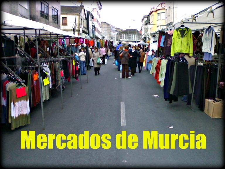 Mercados por Poblaciones en La Región de Murcia