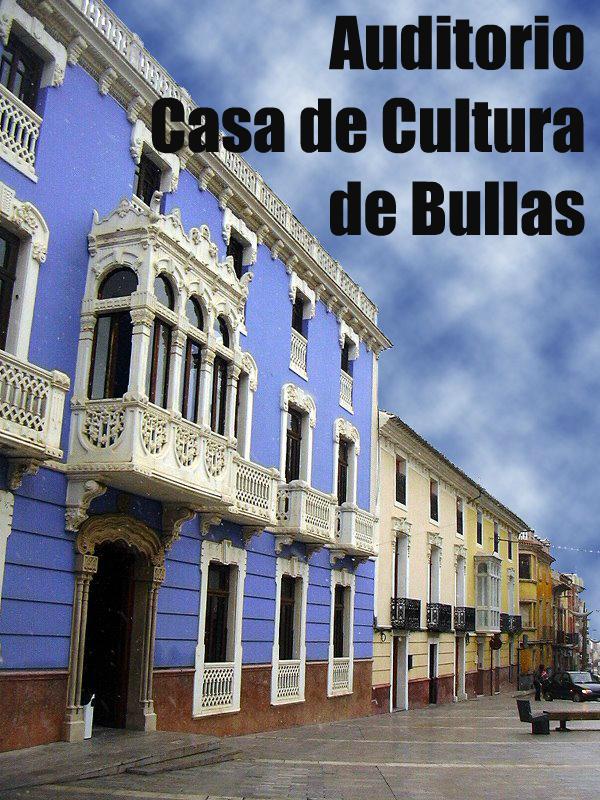 Auditorio Casa de Cultura de Bullas