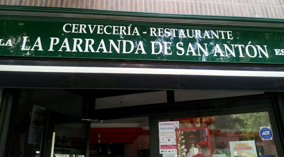 Cervecería Restaurante La caña de San Antón