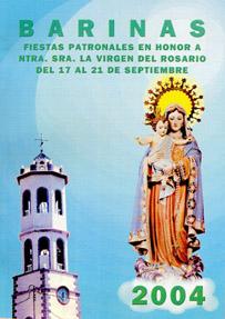 Fiestas de la Virgen del Rosario de Barinas en Abanillas