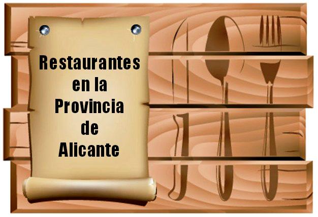 Restaurantes de la Provincia de Alicante
