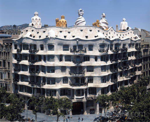 Fundación Caixa Catalunya La Pedrera