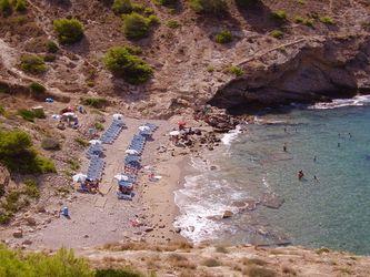Playa Cala Tío Ximo de benidorm