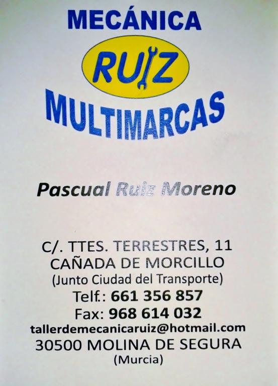 Taller de Mecánica Ruiz