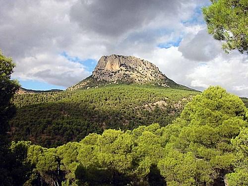 Sendero de Pedro López de Sierra Espuña