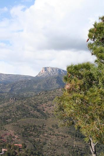 Sendero del Mirador del Corazon de Jesus de Sierra Espuña