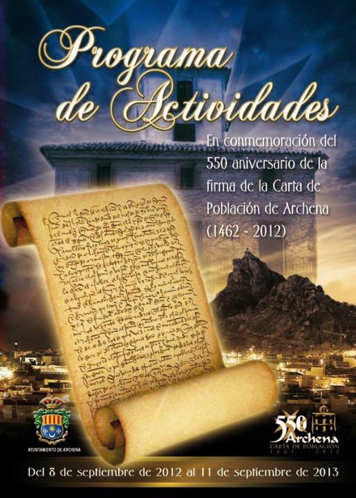 550 Aniversario de la Población Archena