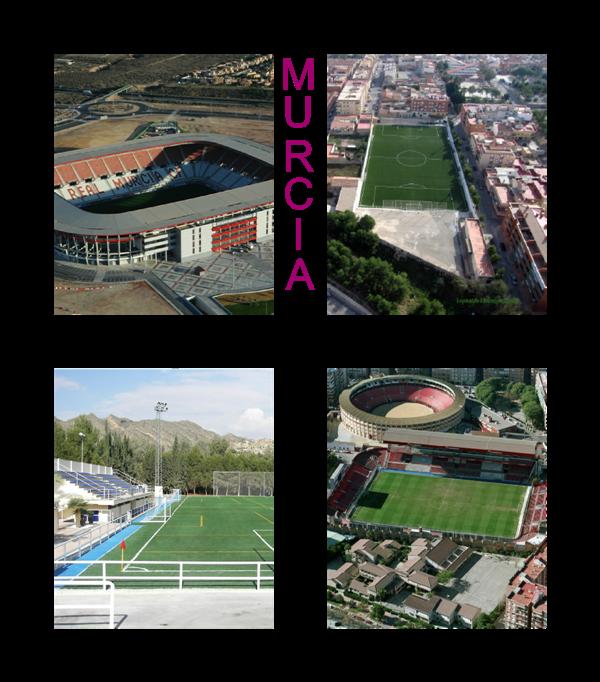 Campos de Fútbol de La Región de Murcia