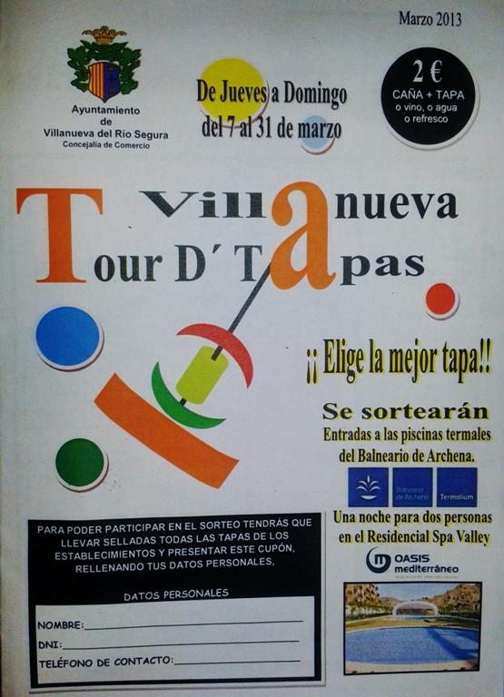 Ruta de La Tapa de Villanueva 2013