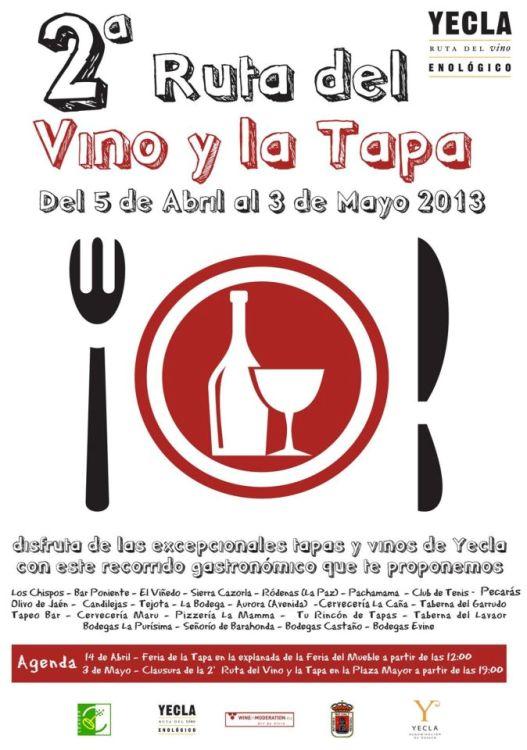 2ª Ruta del Vino y la Tapa de Yecla 2013