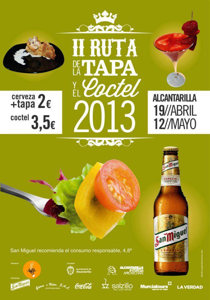 II Ruta de La Tapa y El Cocktail de Alcantarilla 2013