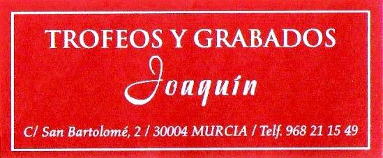 Trofeos y Grabados Joaquín