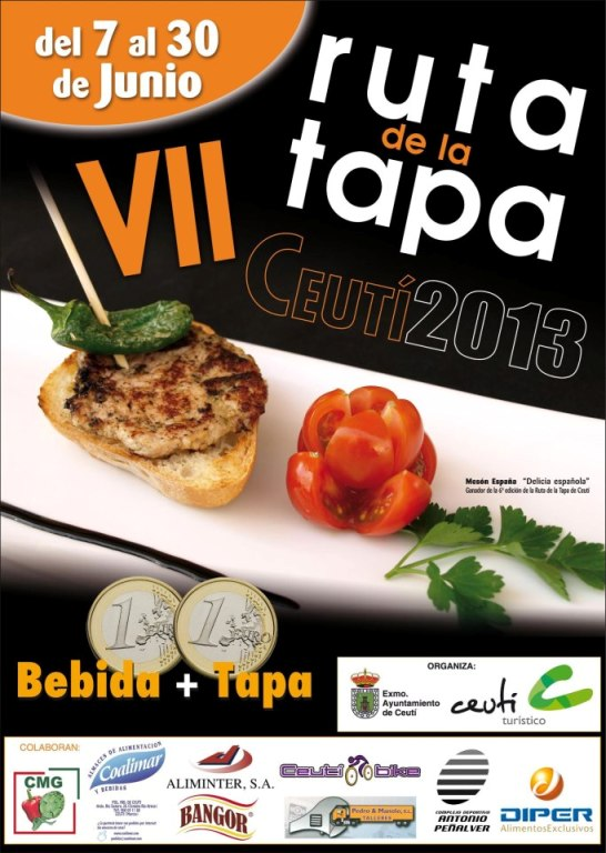 VII Ruta de la Tapa de Ceutí 2013
