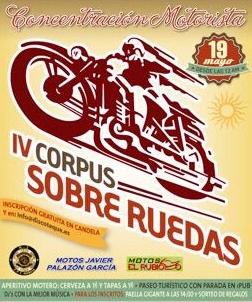 IV Corpus Sobre Ruedas, Fiestas de Archena 2013