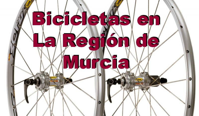 Bicicletas en La Región de Murcia