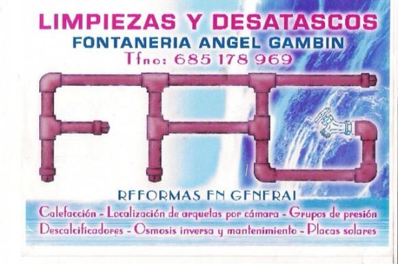 Fontanería Angel Gambín