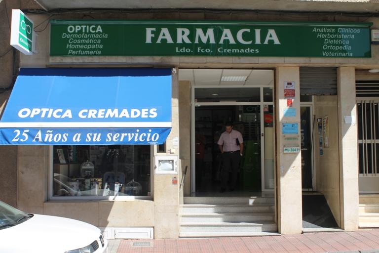 Farmacia Francisco Cremades Prieto