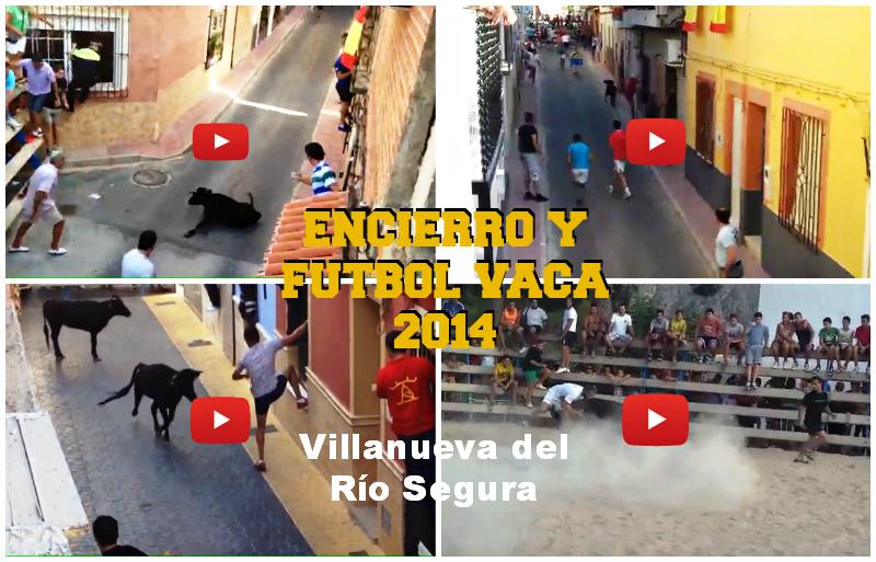 Encierro y Fútbol Vaca de Villanueva