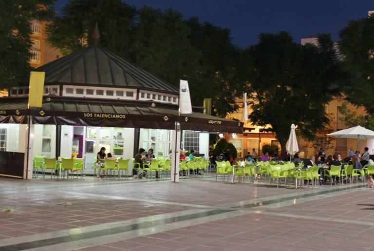 Heladería Los Valencianos en Plaza de España