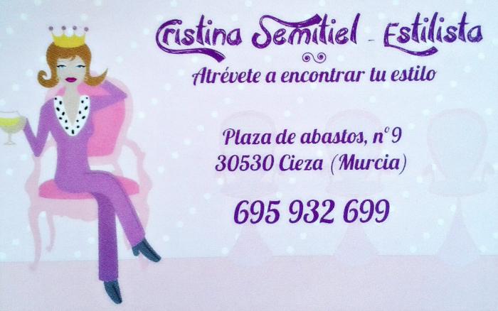 Cristina Semitiel Estilista