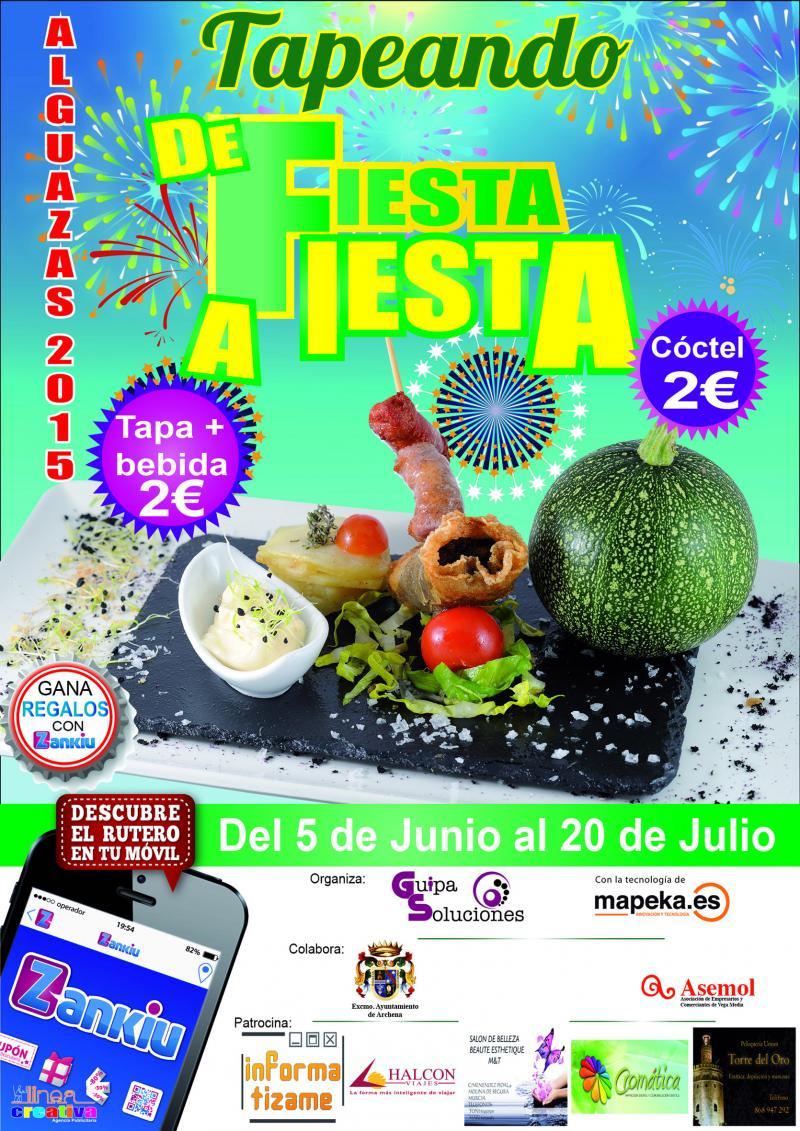 Tapeando Alguazas 2015 De Fiesta A Fiesta
