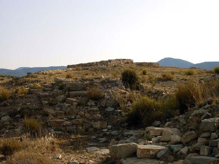 Yacimiento arqueológico del Cerro de La Fuente en Archivel ( Caravaca )