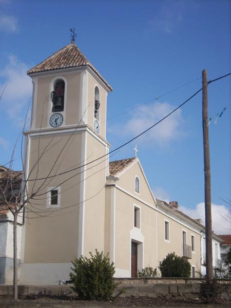Parroquia de Santa Bárbara en Archivel ( Caravaca)