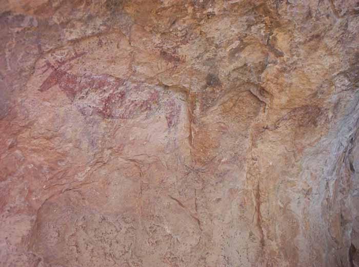 Pinturas rupestres de la Cañaica del Calar