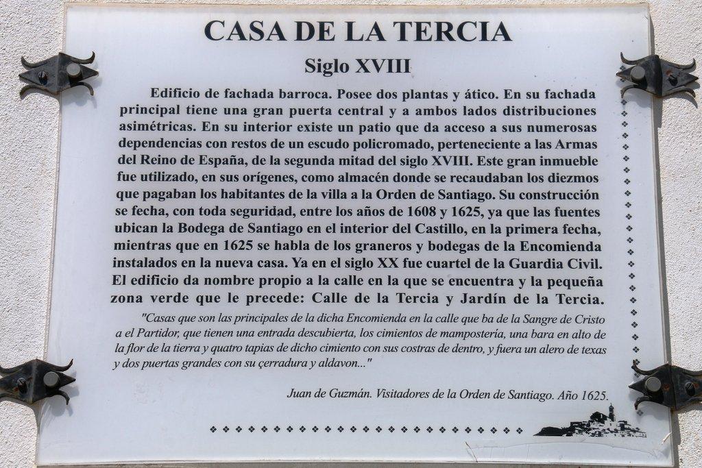 Restaurante Palacio de la Tercia-Cehegín