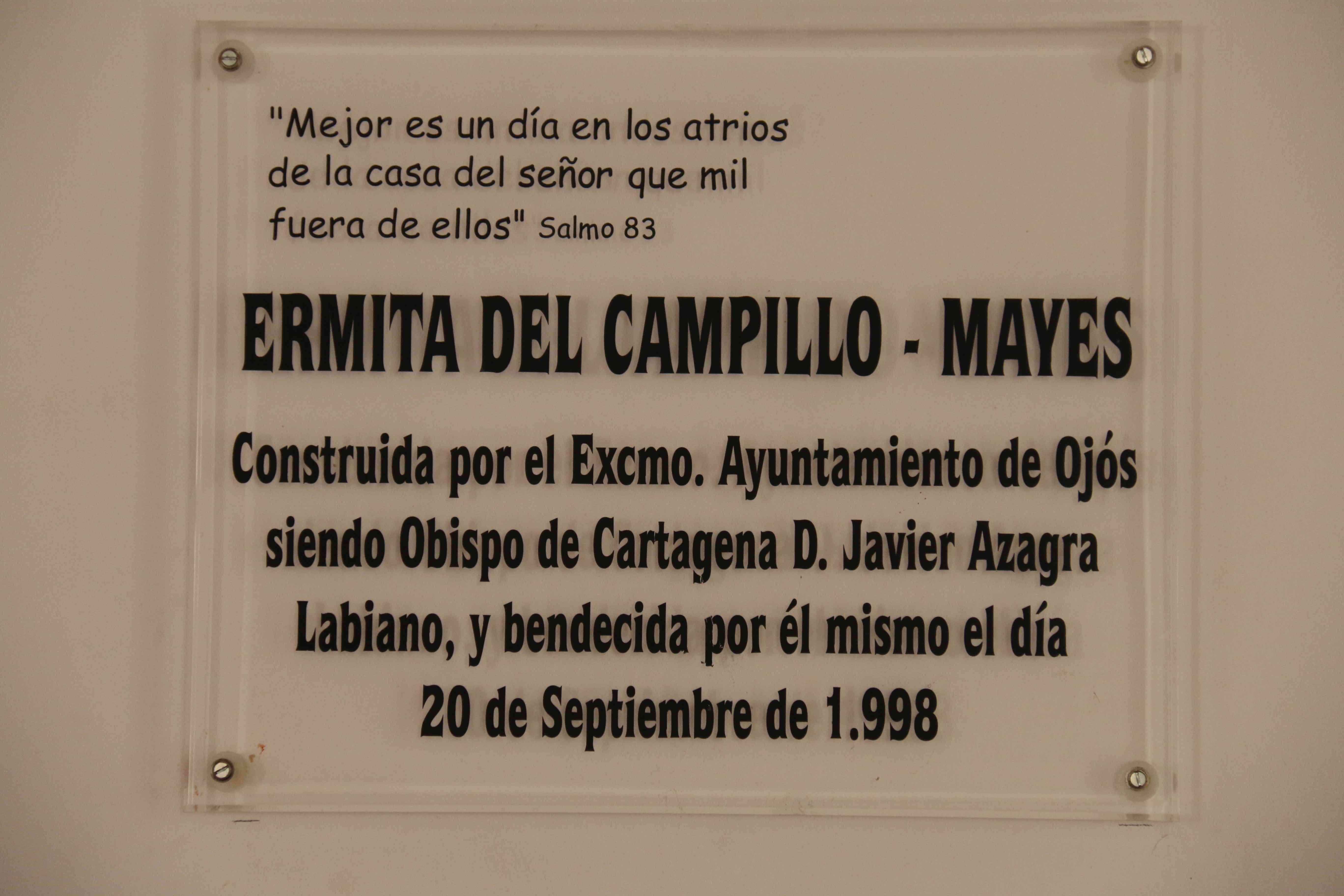 Ermita del Campillo - Mayes
