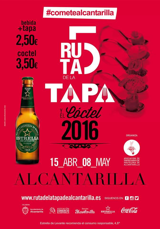 Ruta de la Tapa Alcantarilla 2016