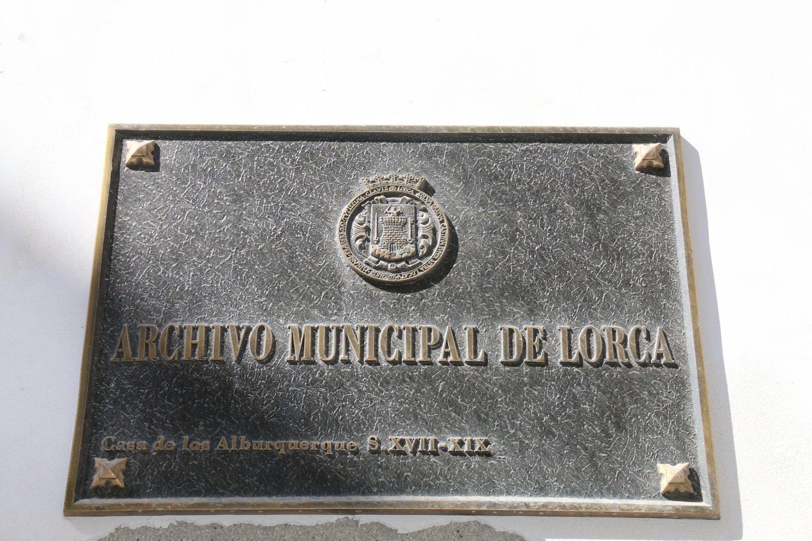 Archivo municipal de Lorca (Casa de los Alburquerque)