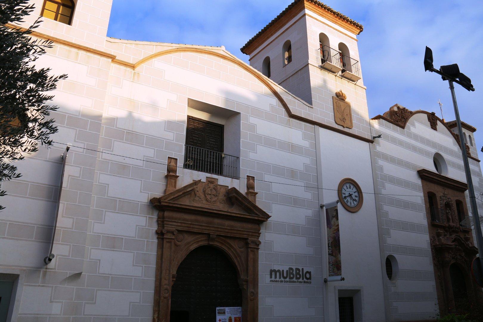 Capilla del Rosario, sede del Paso Blanco