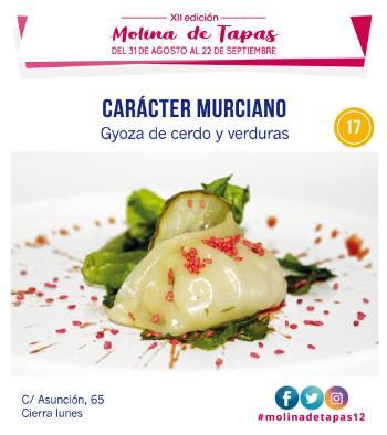 Bar Carácter Murciano en Molina de Segura