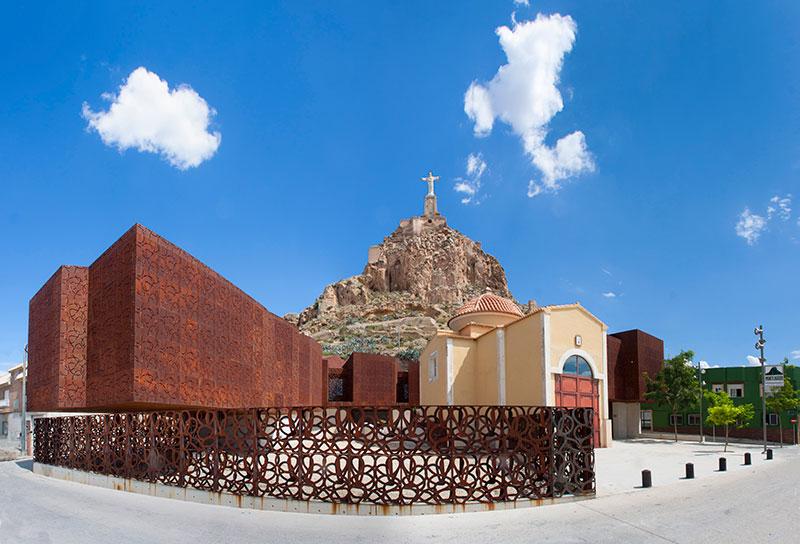 Centro de Visitantes de San Cayetano en Monteagudo