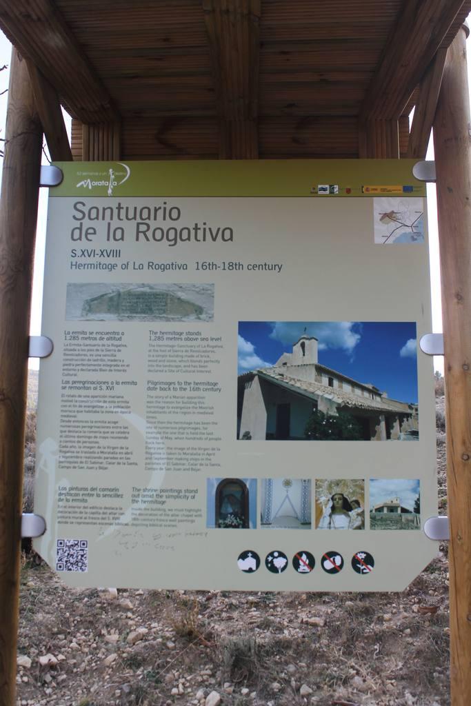 Ermita Santuario Nuestra Señora de La Rogativa en La Sierra de Revolcadores-Moratalla