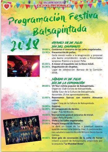 Fiestas de Balsapintada