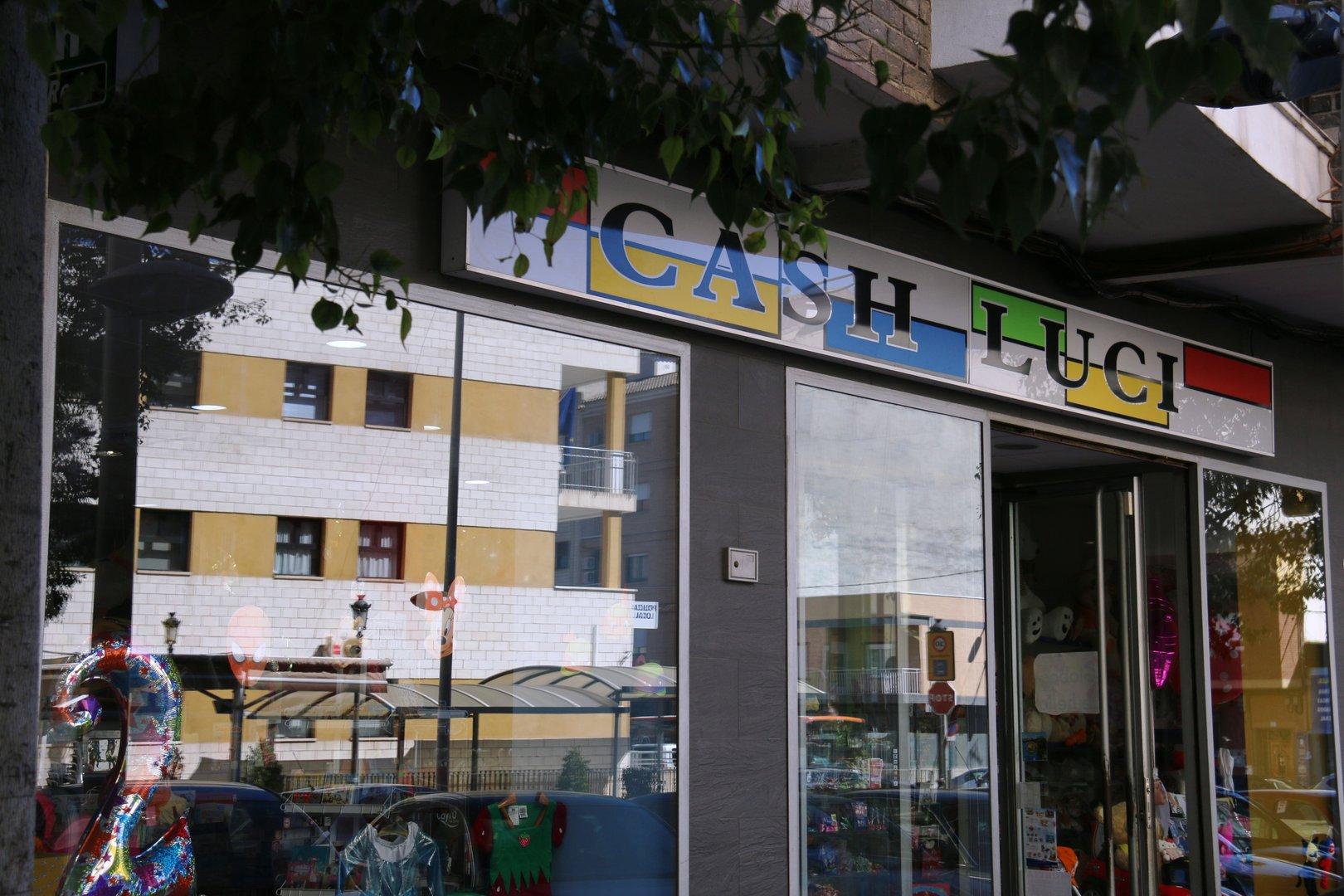 Juguetería Cash Luci