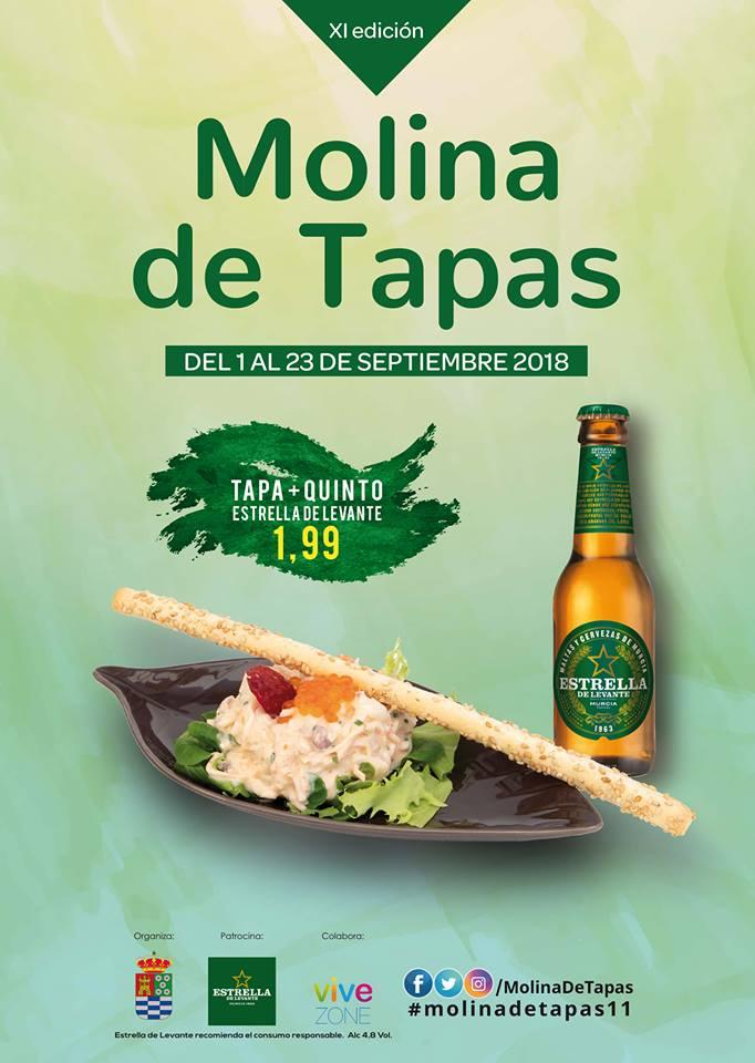 XI Ruta de la Tapa Molina 2018