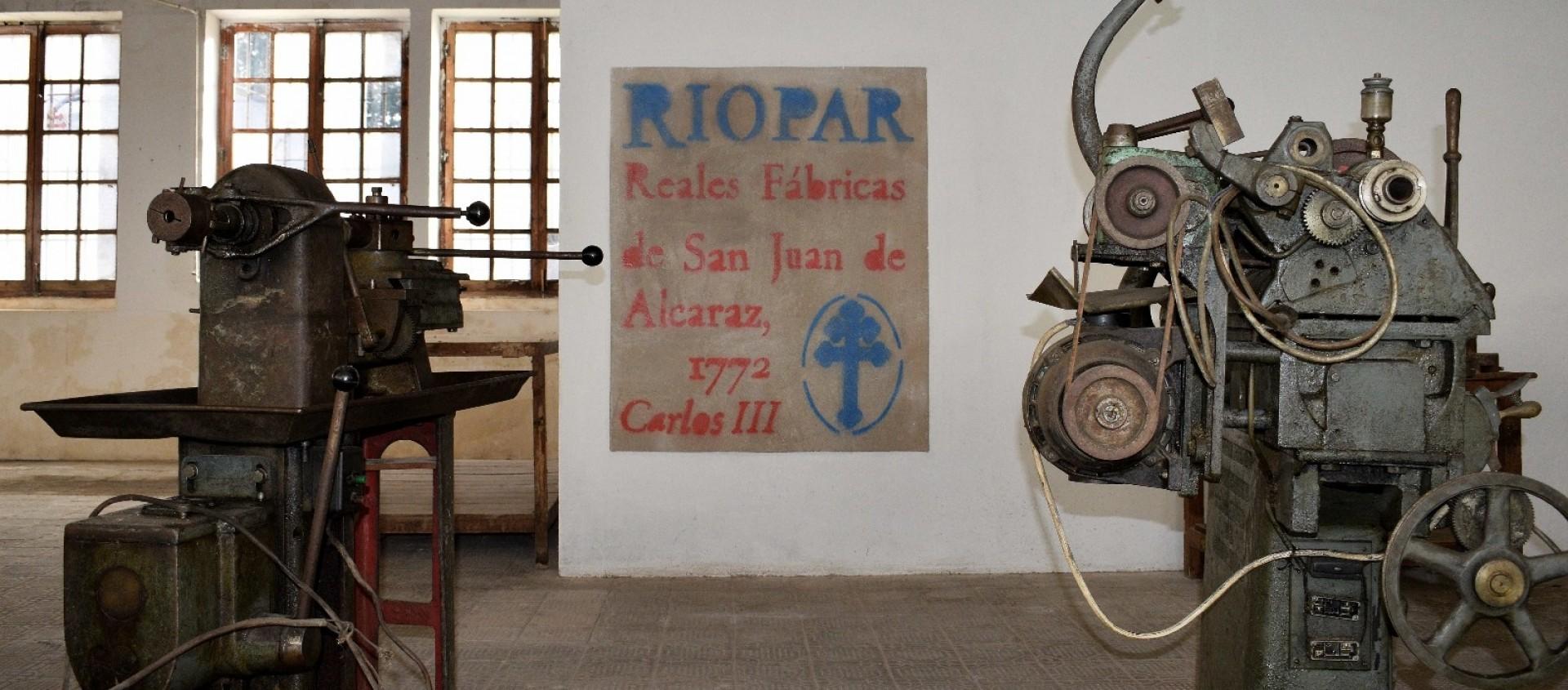 Museo de las Reales Fábricas de San Juan de Alcaraz