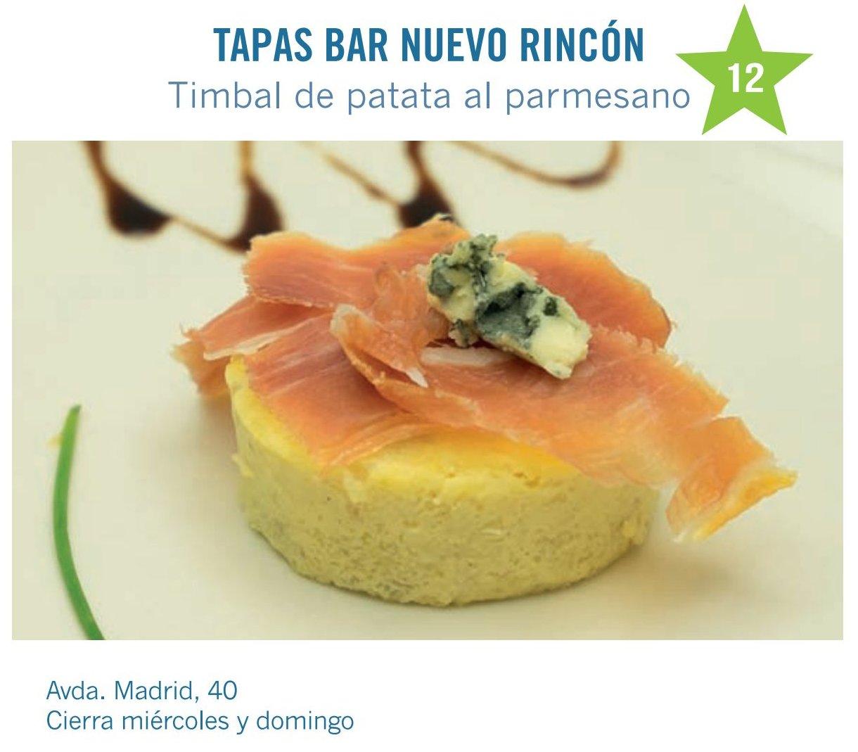 Tapas Bar Nuevo Rincón de Molina