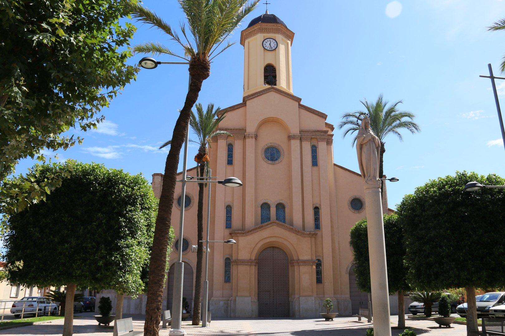 Parroquia Nuestra Señora del Rosario en La Unión