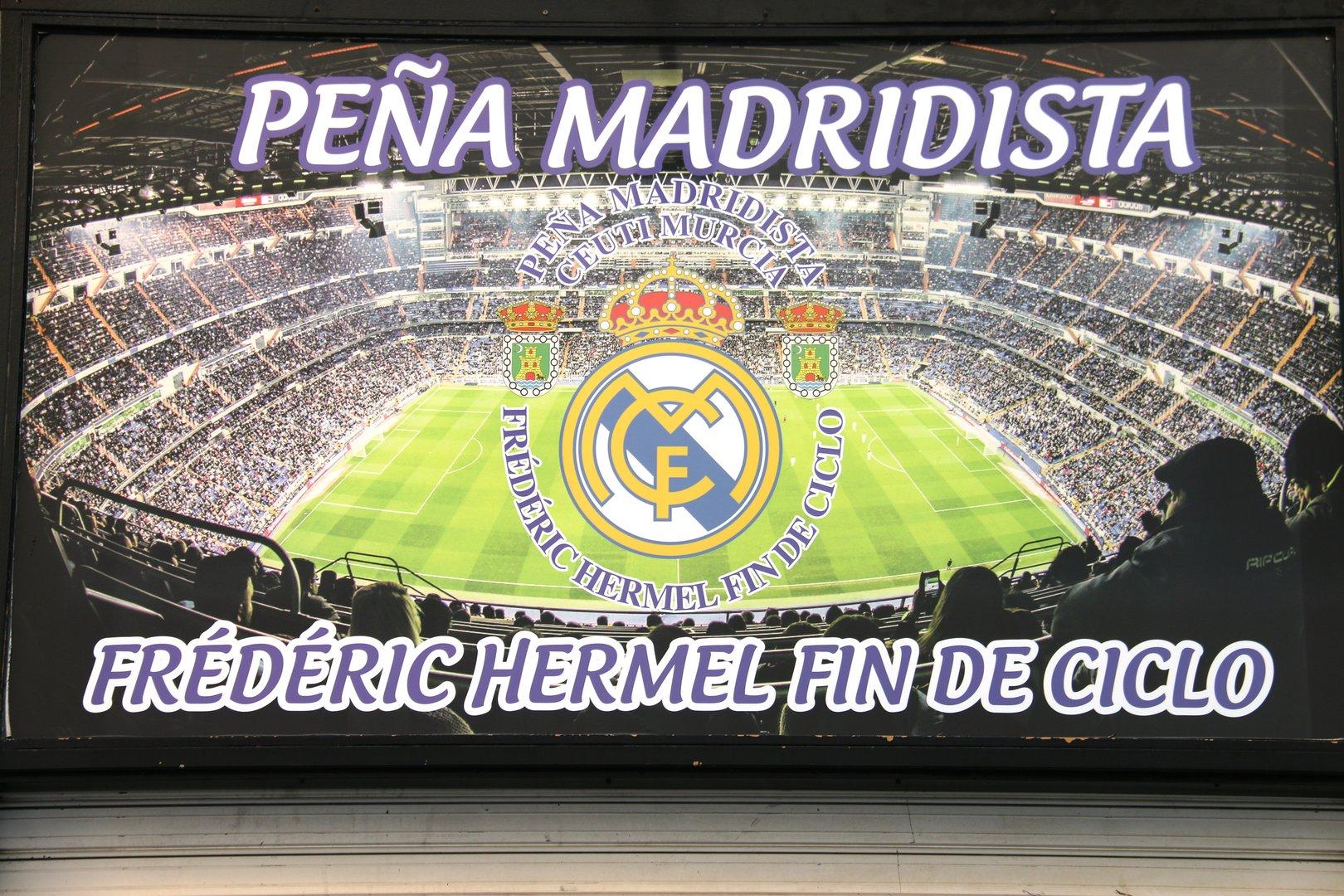 Peña Madridista Ceutí- Frederic Hermel - Fin de Ciclo