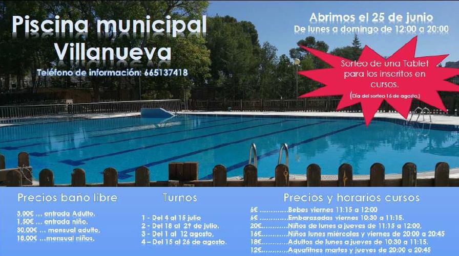 Piscina Municipal de Villanueva del Río Segura