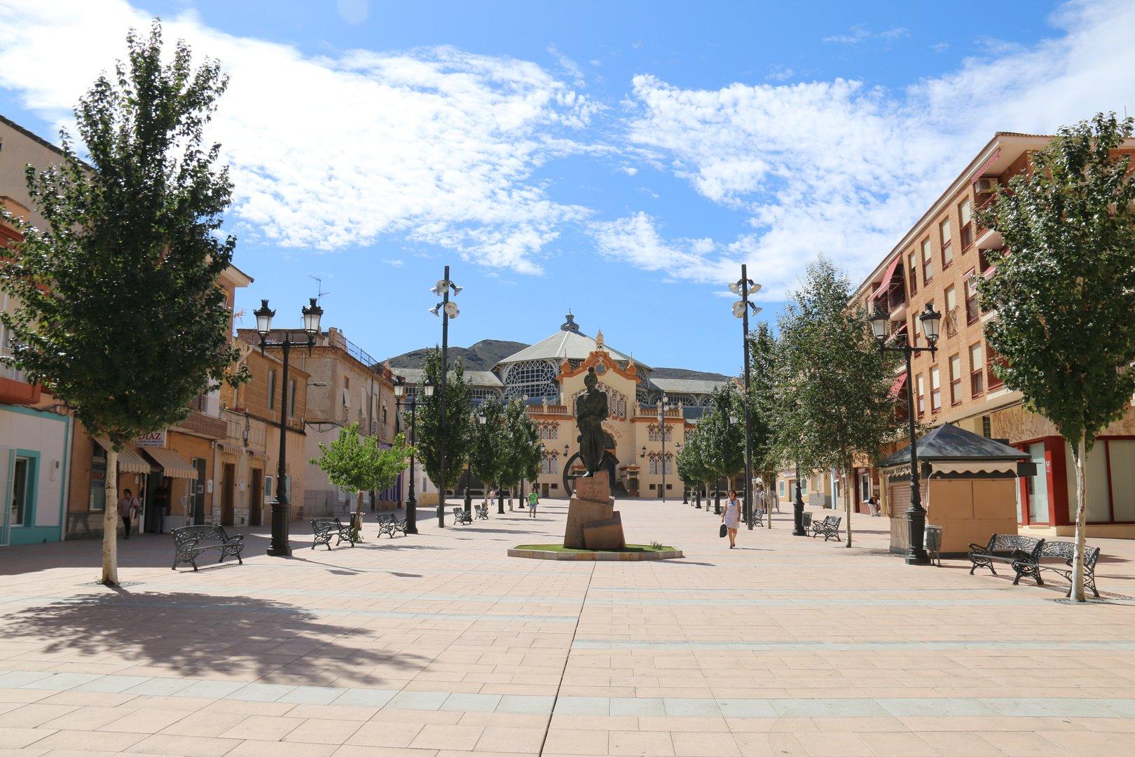 Plaza Joaquín Costa de La Unión
