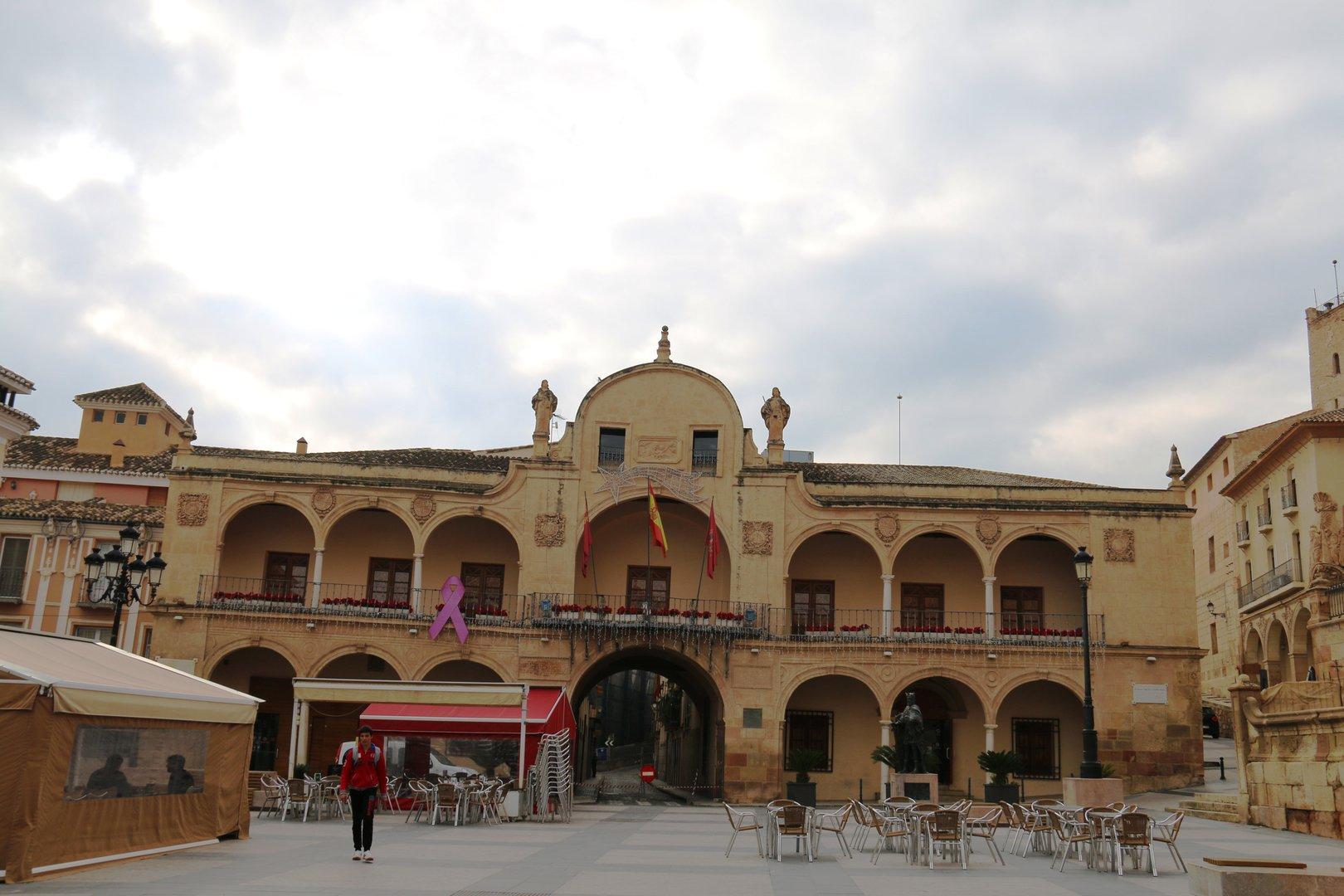 Plaza Mayor o  del Ayuntamiento  Lorca