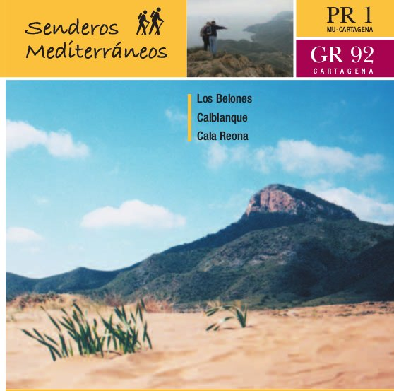 Ruta Los Belones - Calblanque - Calarreona