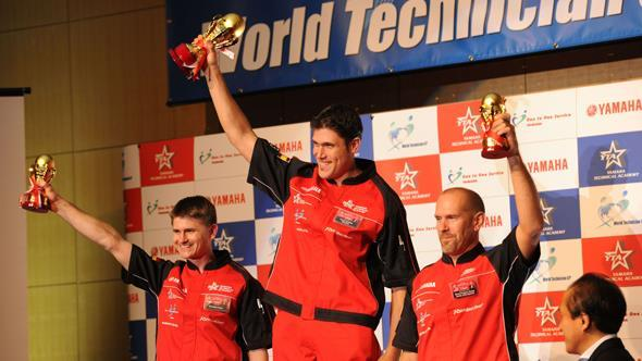 Motos Lean, Campeón del World Technician GP de Yamaha