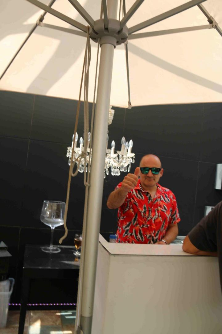 Javi Lorenzo en Oasis Las Palmeras