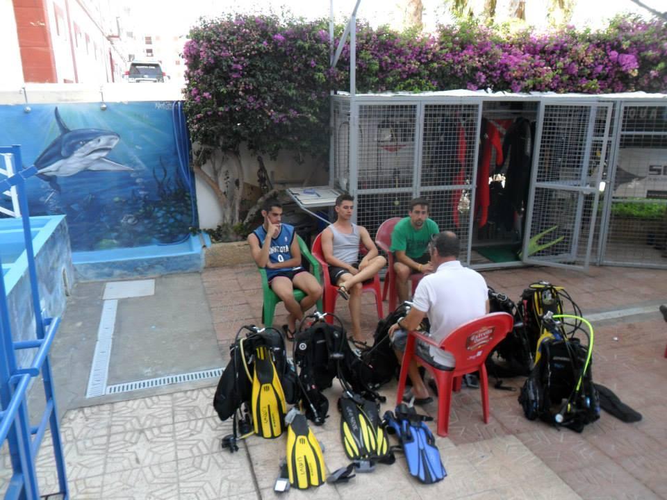 Bautizos de Buceo 11 y 12 de Julio 2015 Centro de Buceo del Sureste